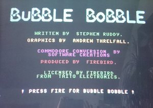 Bubble Bobble loaded