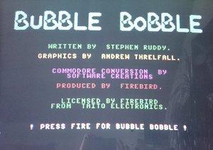 Bubble Bobble loaded
