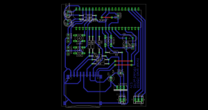Board layout using LF33CV voltage regulator